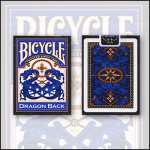 Bicycle: Dragon Back Blue