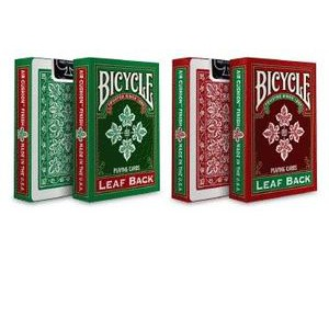 Bicycle: Leaf Back Green & Red