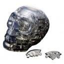 Crystal puzzle - Black Skull