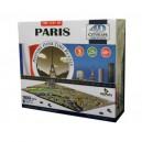 4d Cityscape Puzzle - Paris (1100)