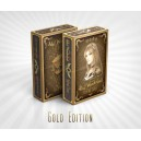 Alice of Wondering Playing Cards Gold