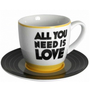 The Beatles - All You Need Is Love Mug & Saucer Set