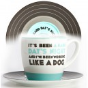 The Beatles - It's Been A Hard Day's Night  Mug & Saucer Set