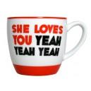 The Beatles - She Loves You Mug & Saucer Set