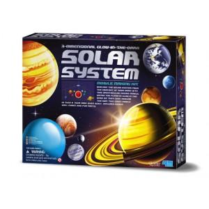 Solar System Mobile Making Kit - Glow in the Dark