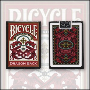 Bicycle: Dragon Back Red