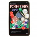 Professional Poker Chips 100 Pieces