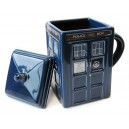 Dr Who: TARDIS Mug with Removable Lid