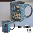 Dr Who: Dalek Heat Changing Coffee Mug
