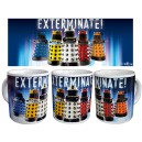Dr Who: Daleks Exterminate Coffee Mug